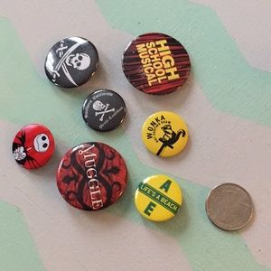 Jewelry - REDUCED lot of Vintage Buttons pins